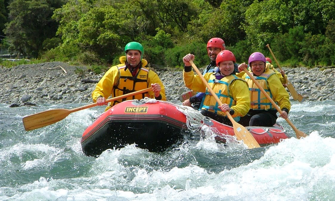 Rafting Adventure Trips in Otaki Gorge, New Zealand