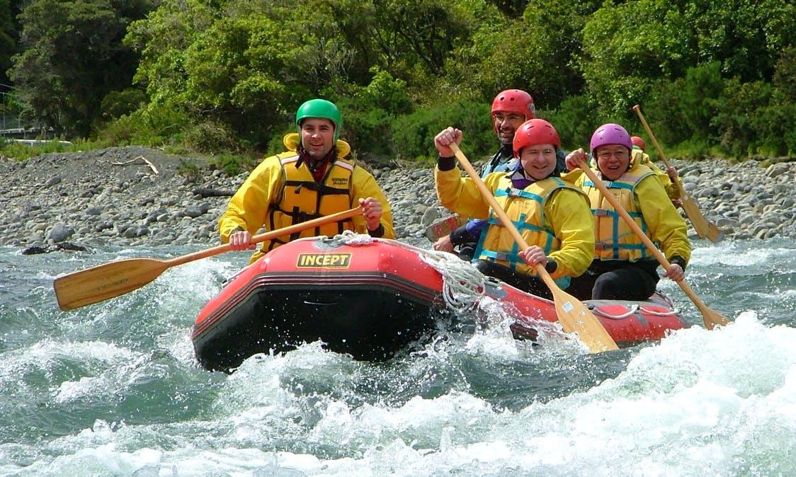 Rafting Adventure Trips in Otaki Gorge, New Zealand