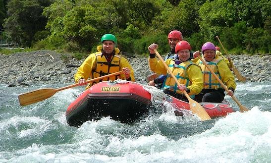 Rafting Adventures Trips In Otaki Gorgem, New Zealand