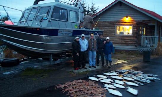 26' Koffler Cuddy Cabin Rental In Anchor Point, Alaska