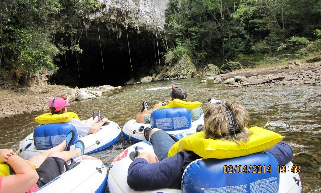 Guided Cave Tubing Tours in Belize