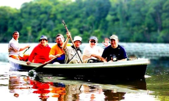 Canoe Guided Tours In Tortuguero, Costa Rica