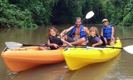 Kayak Guided Tours In Tortuguero, Costa Rica