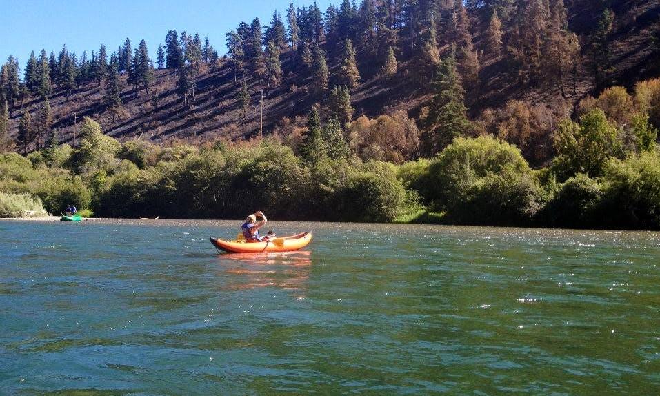 Inflatable Kayak Rental on Yakima River