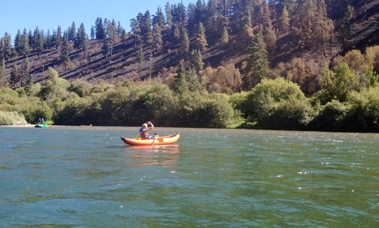 Inflatable Kayak Rental On Yakima River