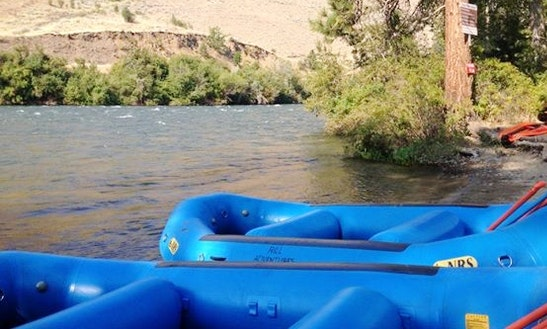 11' Raft Rental In Yakima River