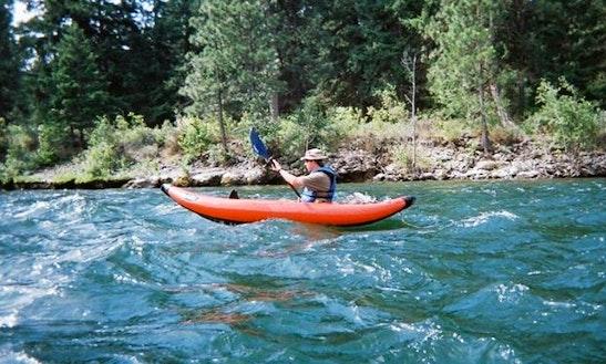 Kayaking Trips On Yakima River From Thorp, Washington