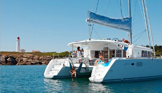 Charter On Catamaran Yacht In Panjim
