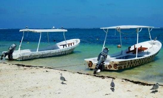 Passenger Boat Charter In  Puerto Morelos, Mexico