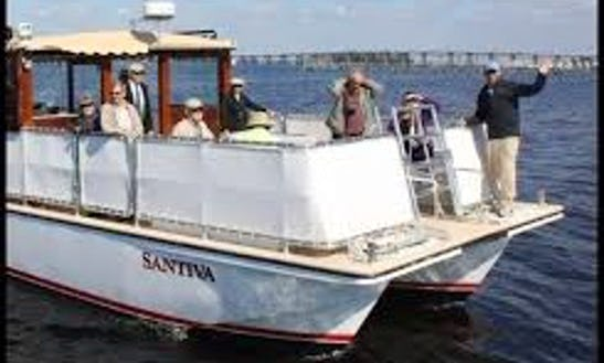 Pontoon Charter In Captiva, Florida