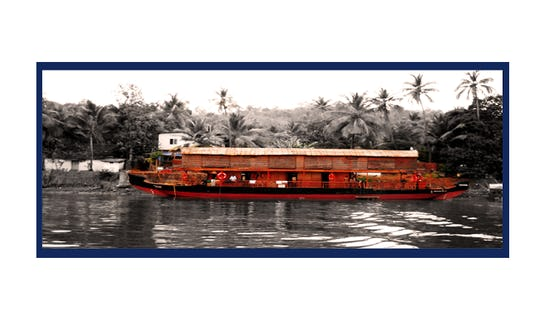 Three Bedroom Houseboat For Rent In Panjim