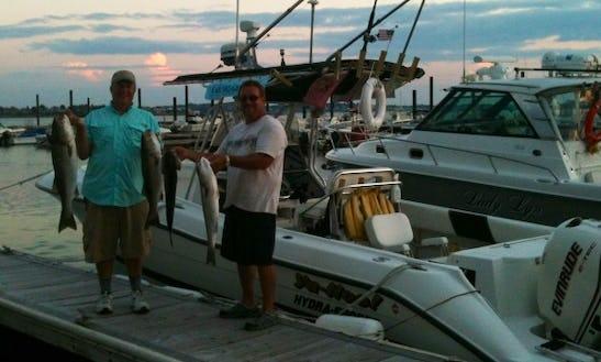 Enjoy Fishing In Hull, Massachusetts With Captain Doug