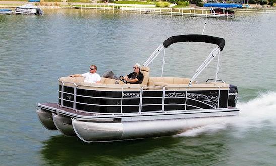 Harris Flotebote 200 Pontoon Rental In Selwyn, Canada