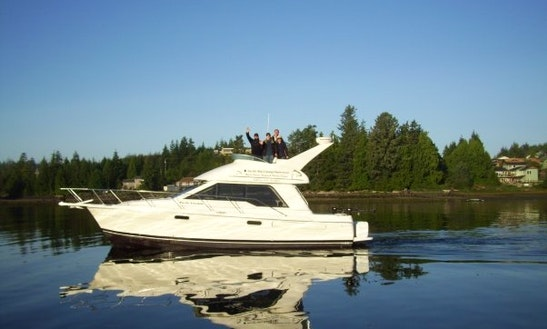 39' Fishing Charter In Ucluelet