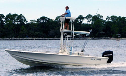 24' Sportfishing Boat In Panama City Beach