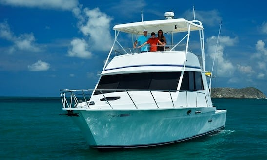 40' Sport Fisherman Charter In Quepos, Costa Rica