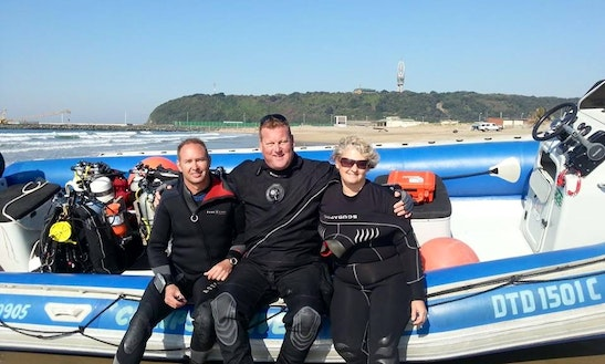 Rib Diving Charter In Durban, South Africa