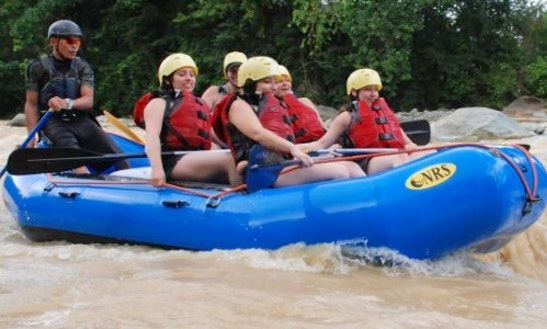 River Rafting On Colorado River, Costa Rica