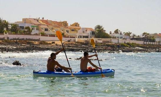 Kayak Rental In La Oliva, Spain