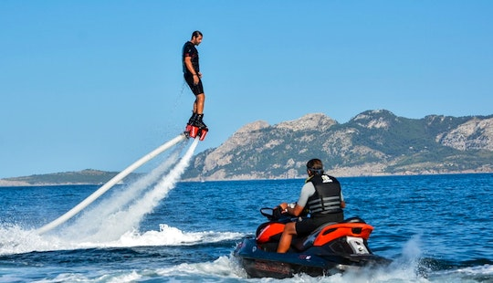 Flyboarding In Pollenca, Spain