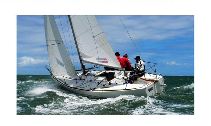 Charter on J24 Sailboat in Panjim