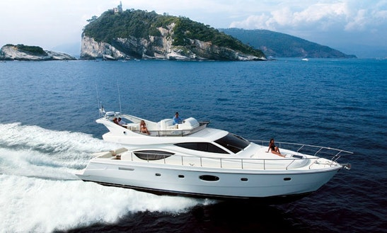Charter On Ferretti 550 In Mumbai