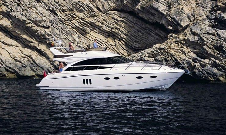 Charter on Motor Yacht Princess 54 in Mumbai