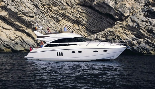 Charter On Motor Yacht Princess 54 In Mumbai