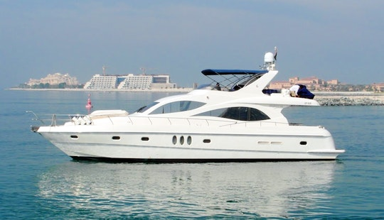 Charter On Majesty 66 Motor Yacht In Mumbai