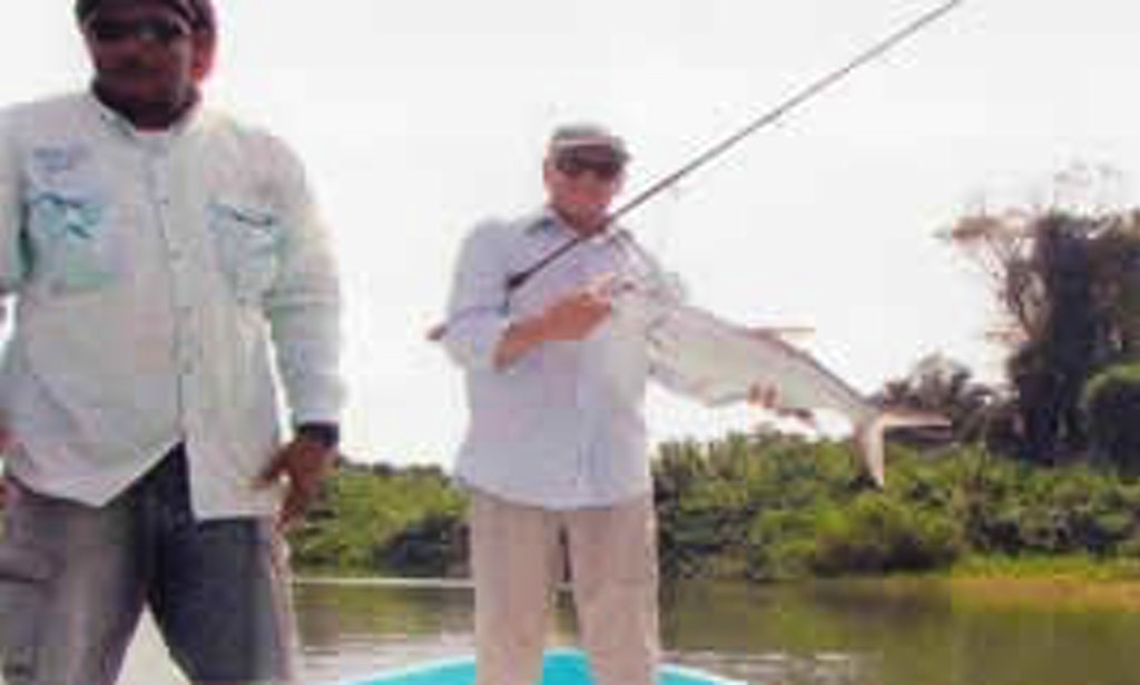 23 39 center console fishing charter in monkey river town for Belize fishing charters