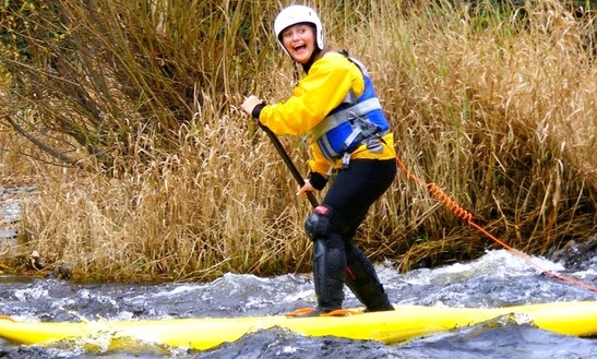 Rent A Stand Up Paddleboard For Flat And Whitewater In Llangollen, United Kingdom