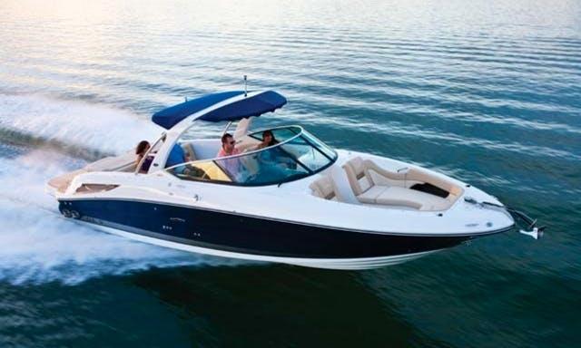Charter on Sea Ray 300 SLX in Mumbai