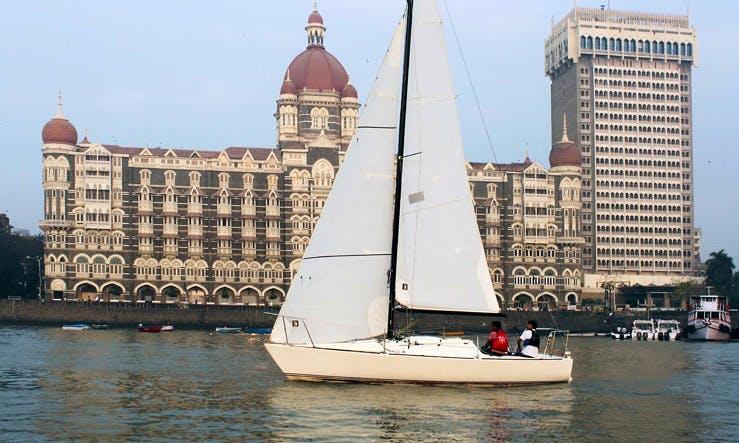 Charter on J24 Sail Yacht in Mumbai