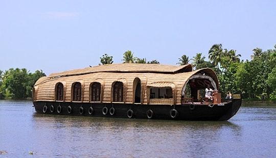 3 Bedroom Premium Houseboat Charter In Alappuzha