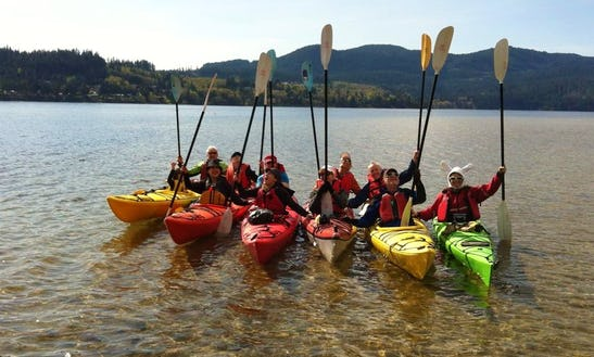 Double Kayak Rental, Lessons & Tours In British Columbia