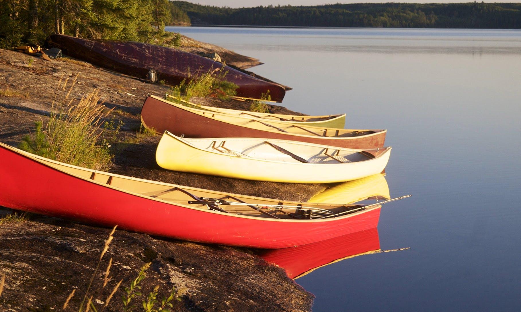 Canoe Rental in British Columbia, Canada