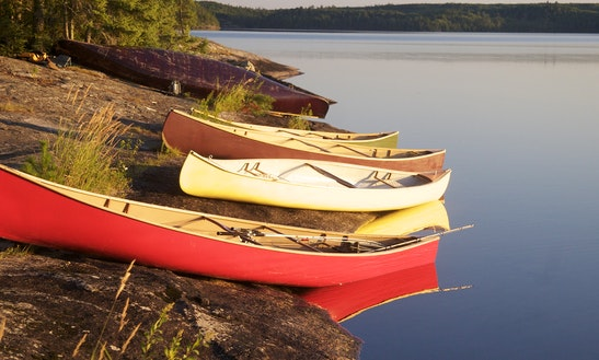 Canoe Rental In British Columbia, Canada
