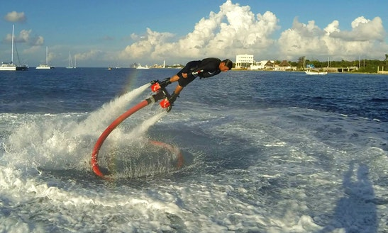 Flyboard Exciting Experience In Cozumel, Mexico