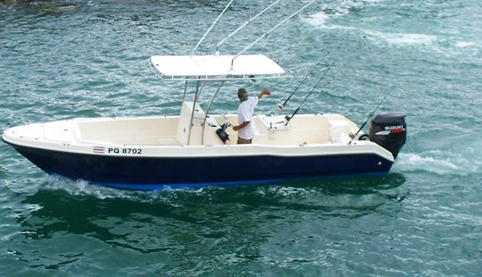 25' Fishing Trip Boat In Quepos