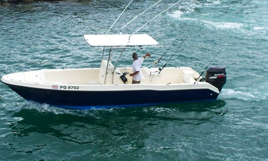 25' Fishing Trip Boat In Quepos