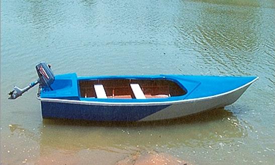 4-seat Motor Boat For Rent In Hanumangarh