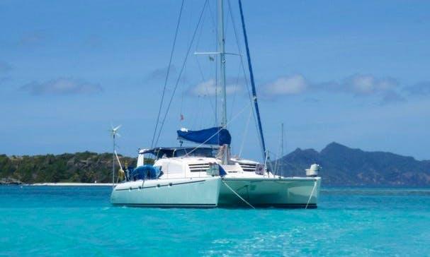 Charter the 45' Luxury Sailing Catamaran in Panama