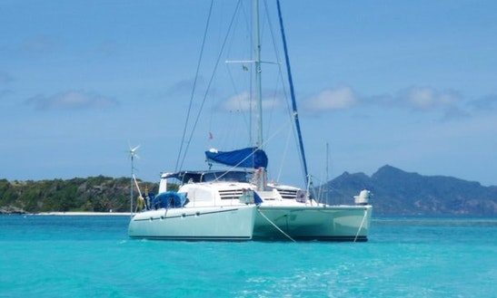 Charter The 45' Luxury Sailing Catamaran In Panama