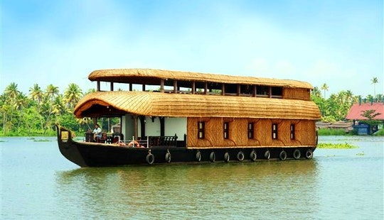 Houseboat Vacation In Kerala, India!
