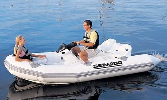 13' Sea Doo Jet Boat Charter In Campbell River