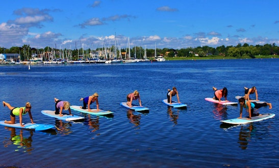 Sup Rental, Lessons, Yoga & Tours In Collingwood