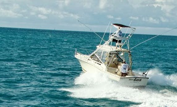 Fishing Charter on 30ft  Carolina Classsic Express In Key Largo, Florida