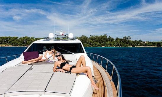 Ciao Bella Motor Yacht In Britona, Goa