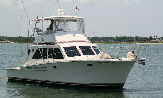 40' Sportfisherman Boat In Saint Augustine