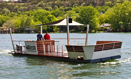 Charter 31 Feet 'la Barge' Party Boat In Austin, Texas